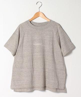 シンプルロゴゆったりTシャツ