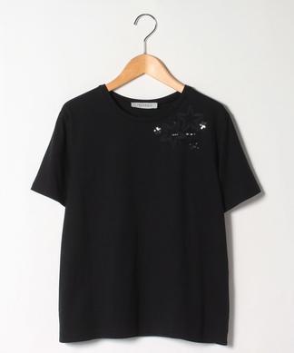 グログランテープ星モチーフTシャツ