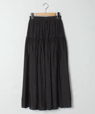 【DOLLY-SEAN】切り替えギャザープリーツスカート