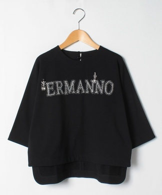 【ERMANNO SCERVINO】ロゴカットソー