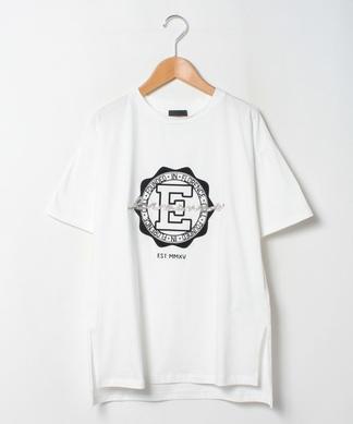【ERMANNO SCERVINO】半袖ロゴTシャツ