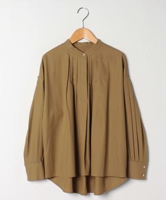 【PASSIONE】タックプリーツシャツ