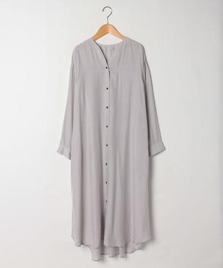 【PASSIONE】バックギャザーロングシャツ
