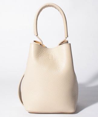 【MARFA】ポーチ付きバケツ型ハンドバッグ