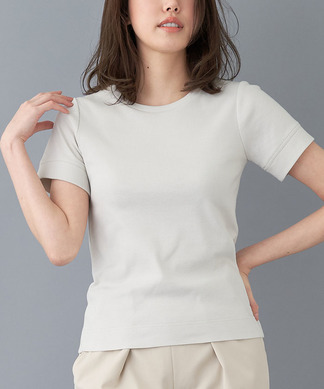 【NEMIKA×T.】ベーシックコットンTシャツ