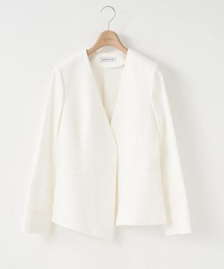 【NEMIKA×T.】ノーカラージャケット