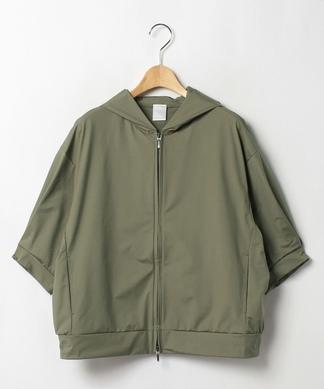 【PUPULA】クロップドスリーブジャケット