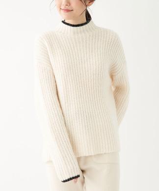【NEMIKA×T.】バイカラーバルキーセーター