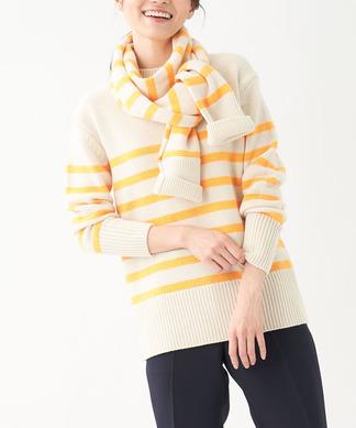 【NEMIKA×T.】マフラー付きセーター
