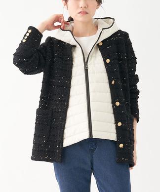 【NEMIKA×T.】ファンシーニットジャケット