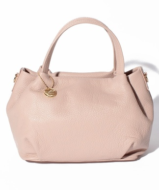 スモーキーカラーハンドバッグ