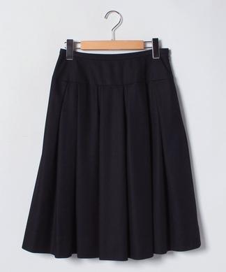 【セットアップ】ビッグプリーツフレアスカート