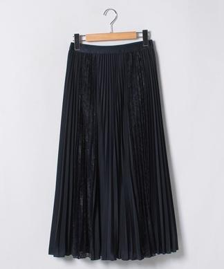 マキシプリーツスカート