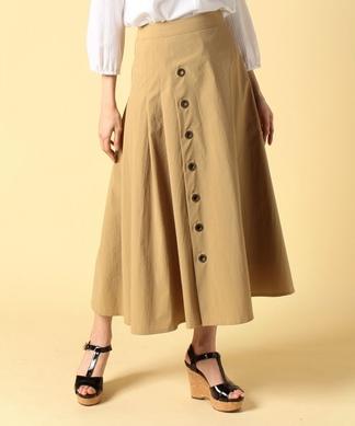 【コーディネートフェア商品】ラップ風スカート