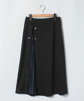 スリットプリーツデザインスカート