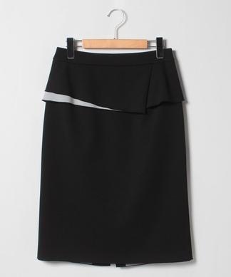 ペプラムタイトスカート