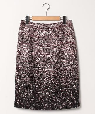 グラデーションタイトスカート