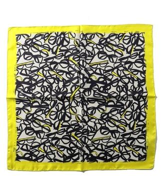 メガネプリントスカーフ