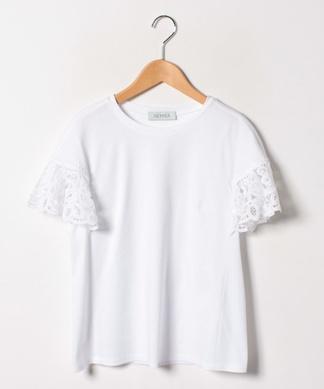 レーススリーブTシャツ