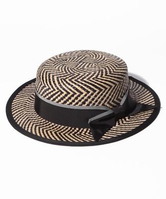 パターンカンカン帽