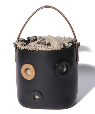 サークルデザインハンドバッグ