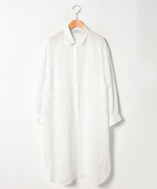【特別提供品】麻ロングシャツ