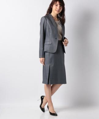 ウールベースジャケット&スカートセット