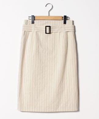 ピンストライプタイトスカート