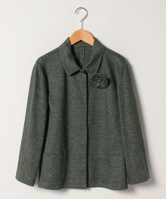 【ROCHAS Premiere】綿麻ステンカラージャケット