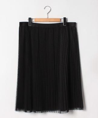 ドットチュールプリ-ツスカート