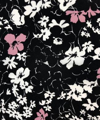 花柄ワンピ-ス