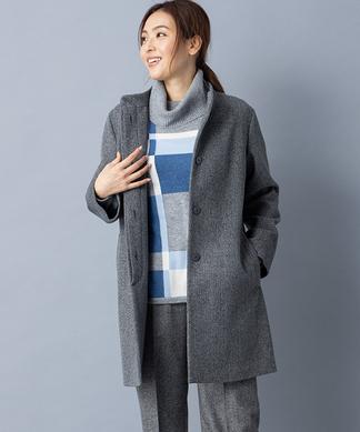 【特別提供品】ミンクファー付きコート