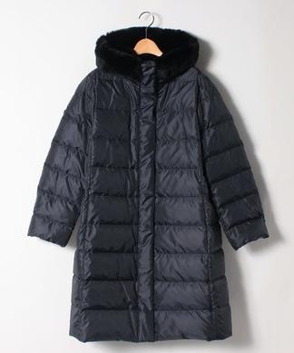 【特別提供品】レッキスファー付きダウンコート