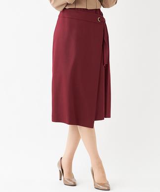 【特別提供品】巻き風デザインスカート