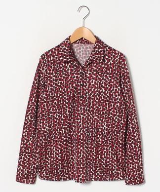 【ROCHAS Premiere】レトロプリントシャツ