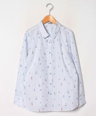 【プラス企画】マリンデザインシャツ