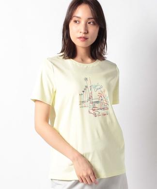 イラスト刺繍Tシャツ