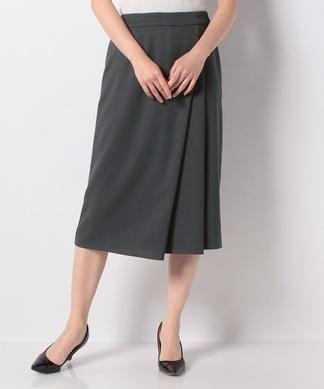 【WEB先行】アシンメトリータイトスカート
