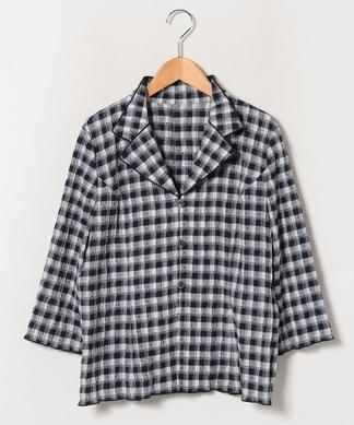 7分袖シャツジャケット