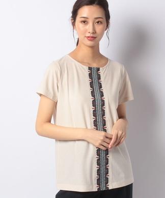 オリエンタルチック刺繍Tシャツ