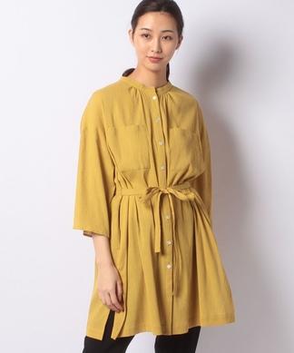 楊柳素材羽織ブラウス