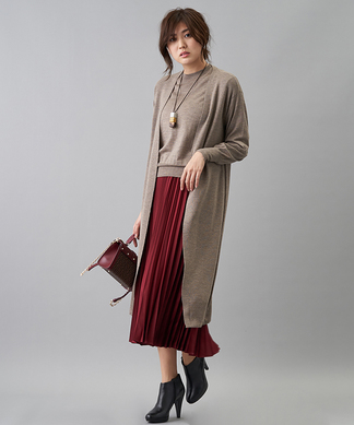 【my perfect wardrobe】ロングニットカーディガン