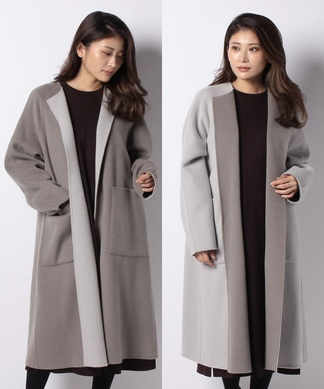 【my perfect wardrobe】リバーシブルコート