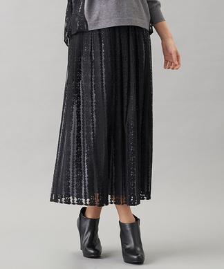 フラワーチュールロングスカート