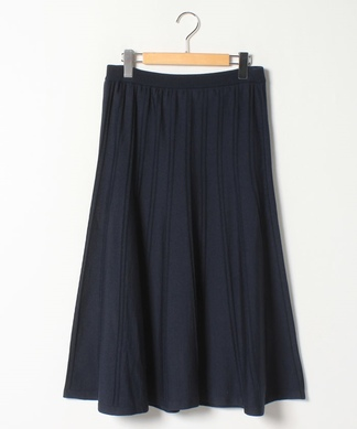 【プラス企画】ニットフレアスカート