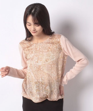 【ERICA】ペイズリープリントセーター