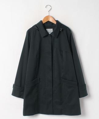 【特別提供品】フード付ステンカラーコート