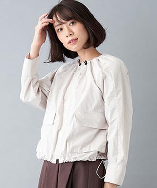 【my perfect wardrove】ジップアップジャケット