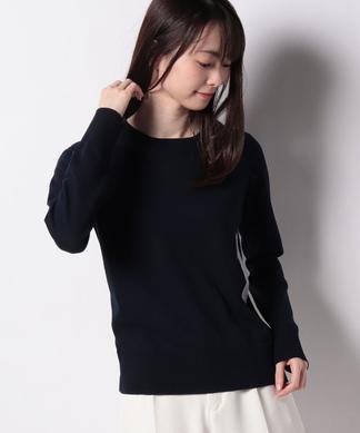 【BRUNO MANETTI】配色ニットプルオーバー