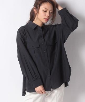長袖ロングシャツ